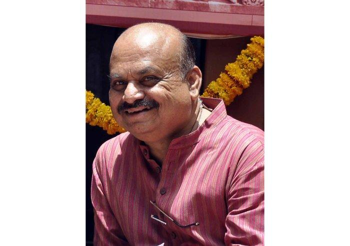 Home Minister Basavaraj Bommai (DH Photo)