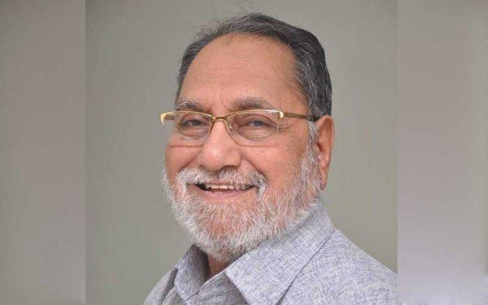 Veteran Congressman Husain Dalwai. (Credit: Facebook)