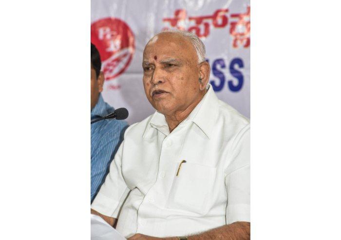 Karnataka CM B S Yediyurappa