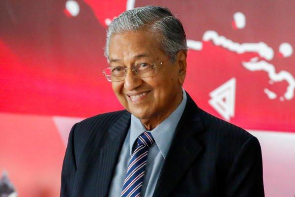 Mahathir Mohamad. (Reuters photo)