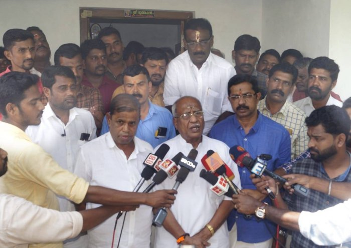 """Senior BJP leader O Rajagopal, who visited the parents of the minor girls, told reporters here """"we need a re- investigation into the case. There should be an impartial probe."""" he said. (Credit: Facebook)"""