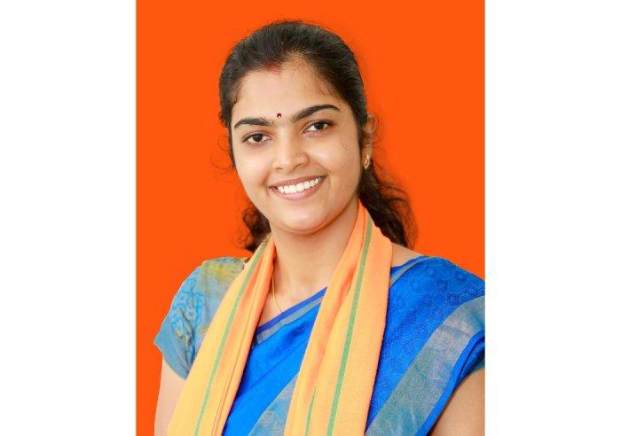 BJP contestant, Sangeetha R Nayak (DH Photo)