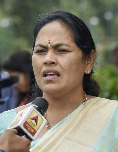 Udupi-Chickmagalur MP ShobhaKarandlaje (PTI Photo)