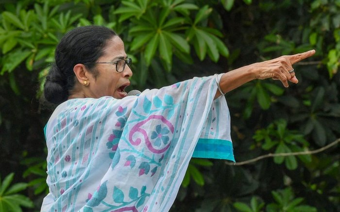 West Bengal Chief Minister Mamata Banerjee (PTI Photo)