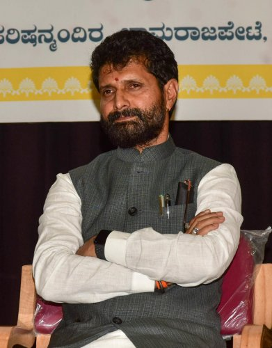 District In-charge Minister C T Ravi (DH Photo)