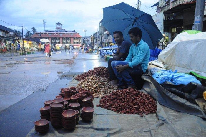 Deepavali in Bengaluru (DH Photo)