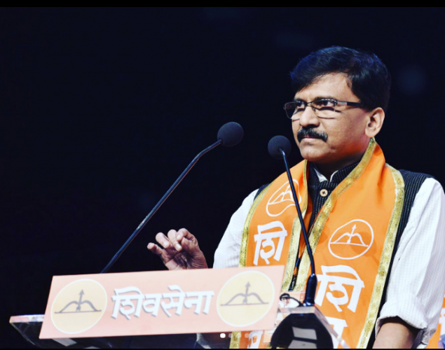 """""""The Sena contested the assembly elections in an alliance and we would adhere to the coalition dharma till the last moment,"""" said Sena leader Sanjay Raut. Photo/Instagram (sanjay___raut)"""