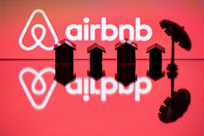 Airbnb. (AFP Photo)