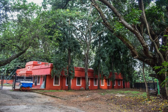 Karnataka State Bar Council Building, Old Election Commission Building at Cubbon Park. DH Photo