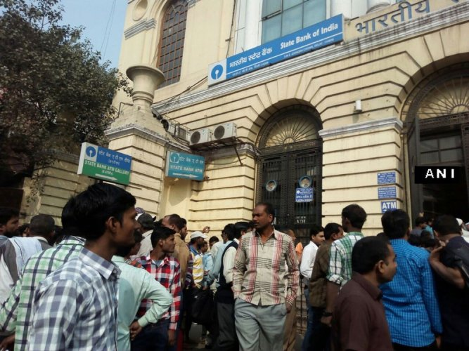 75 per cent of the affected branches belong to the country's biggest lender State Bank of India. File photo