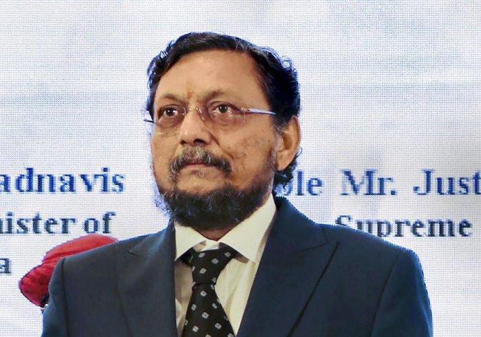 Justice Sharad Arvind Bobde. (DH Photo)
