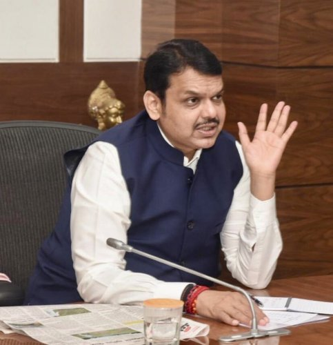 Inthe end, everyone has to work for the benefit of the people of the state. I hope the government is formed soon, said Devendra Fadnavis.Photo/Twitter (@Dev_Fadnavis)