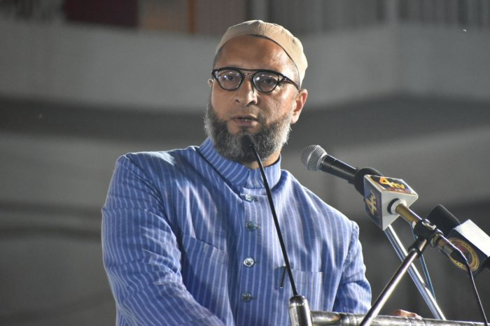 The Israeli Ambassador should be summoned and asked about the matter, said the All India Majlis-e-Ittehadul Muslimeen president. Photo/Twitter (@aimim_national)