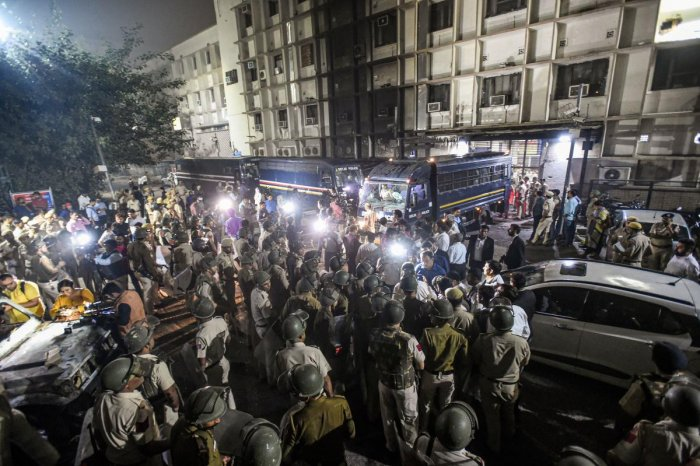 Lawyers and police had clashed at Tis Hazari Court complex here on Saturday afternoon during which at least 10 police personnel and several lawyers were injured while 17 vehicles vandalised, according to officials and eyewitnesses. PTI