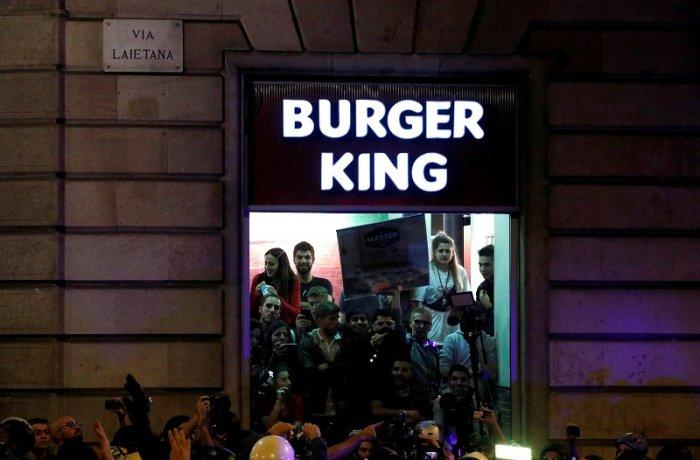 Burger King. (Reuters Photo)