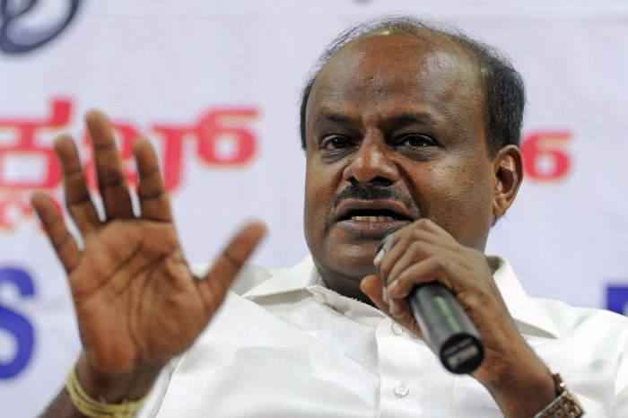 Former Chief Minister HD Kumaraswamy. (DH Photo)