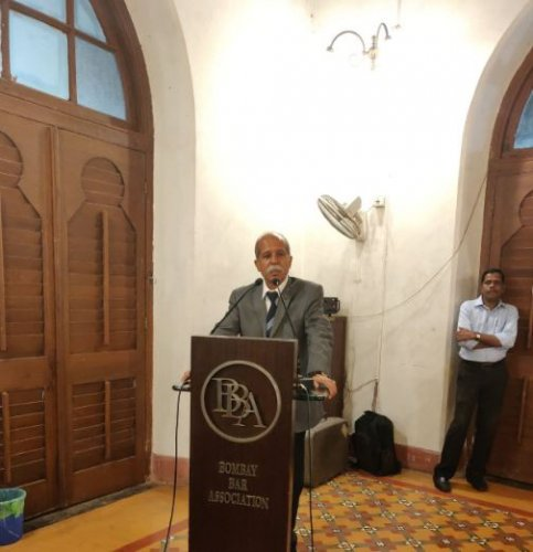 Last month, the court granted the Union government time till November 4 on Mehta's request. Photo/Bombay Bar Association