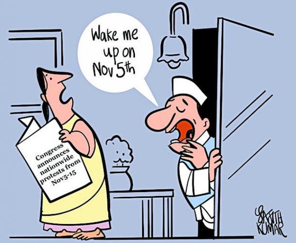 Congress set for nationwide protests against Modi govt