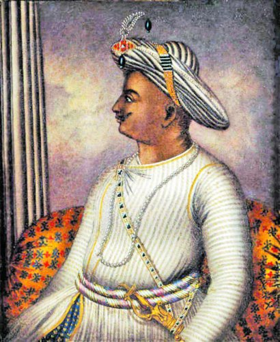 Tipu Sultan (1750-1799), also known as the Tiger of Mysore