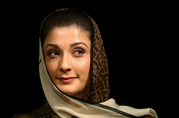 Maryam Nawaz, the daughter of former prime minister Nawaz Sharif. (Photo by Reuters)