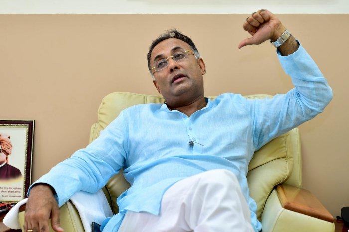 KPCC President Dinesh Gundu Rao (DH Photo)