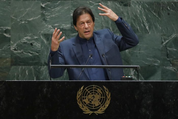 Pakistan's Prime Minister Imran Khan (Photo by Reuters)