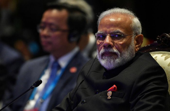 Prime Minister Narendra Modi attends the East Asia Summit (EAS) in Bangkok. (Reuters Photo)