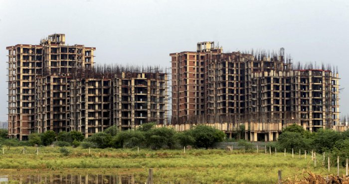 According to data analytics firm PropEquity, housing sales stood at 52,855 units during July-September 2019, down 9.5 per cent from 58,461 units in the year-ago period. Photo/PTI