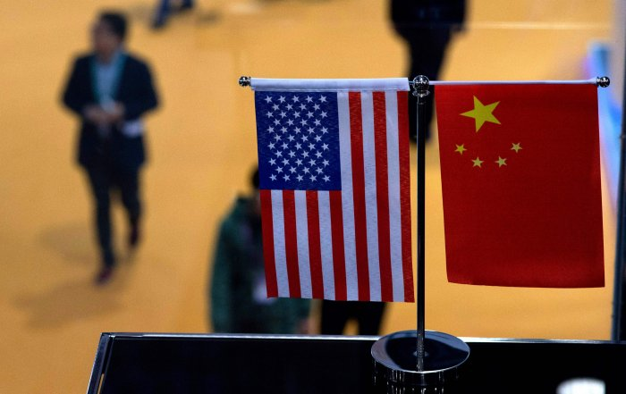 US trade deficit widened in March, reversing the dip in February, but amid a high-stakes trade war the gap with China narrowed. (AFP Photo)