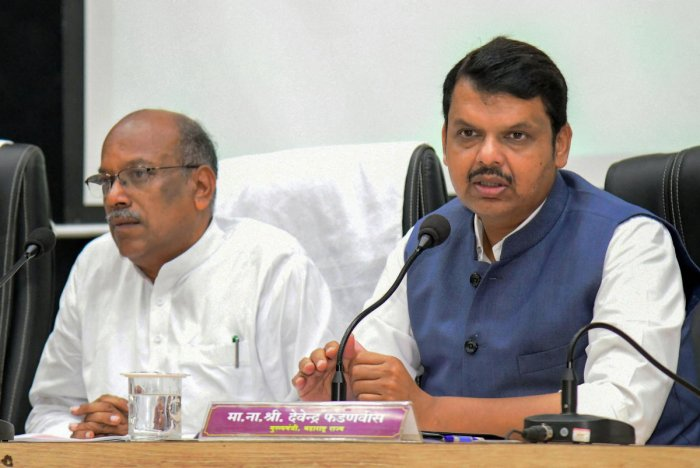 Maharashtra Chief Minister Devendra Fadnavis, who held a series of meeting with the party's national leaders, including president Amit Shah, in the national capital, said the government needed to be formed at the earliest while expressing confidence that it would be formed. PTI Photo