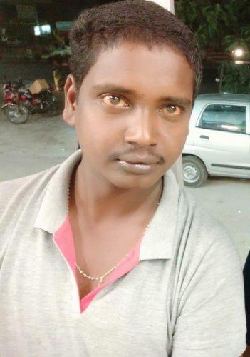 File photo of driver Gurunatham.