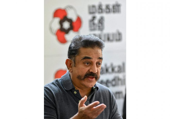 Makkal Needhi Maiam chief Kamal Haasan (PTI Photo)