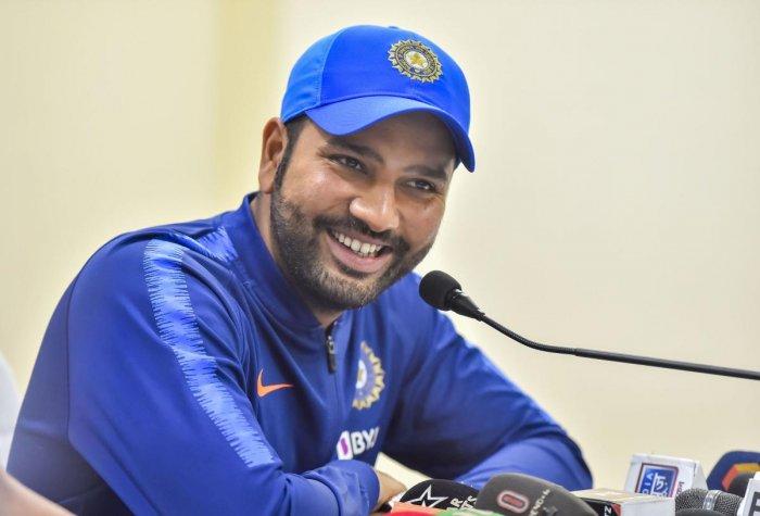 Indian cricket team captain Rohit Sharma. PTI photo