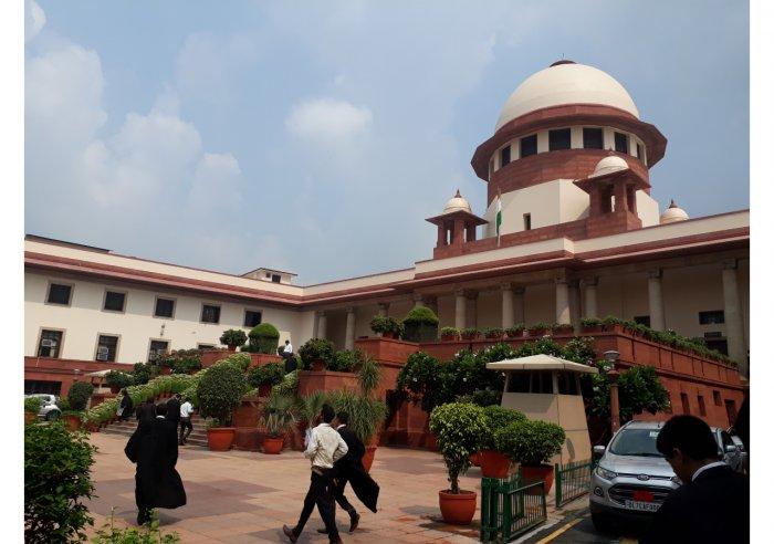 Supreme Court in New Delhi (Wikimedia Commons)
