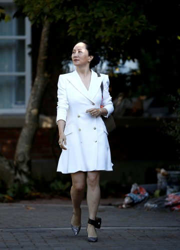 China's foreign ministry on Wednesday urged the re-elected Canadian government to immediately release detained Huawei executive Meng Wanzhou. (Reuters Photo)