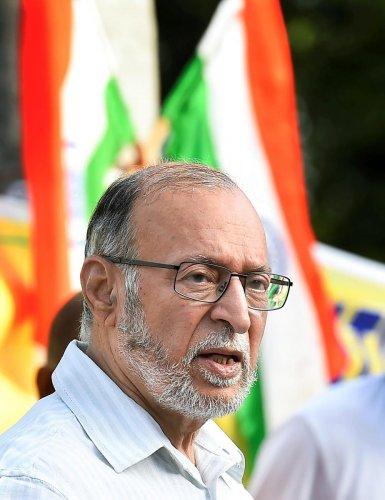 Lieutenant Governor Anil Baijal was also briefed about Tuesday's massive public demonstration against the assault on police personnel by lawyers.