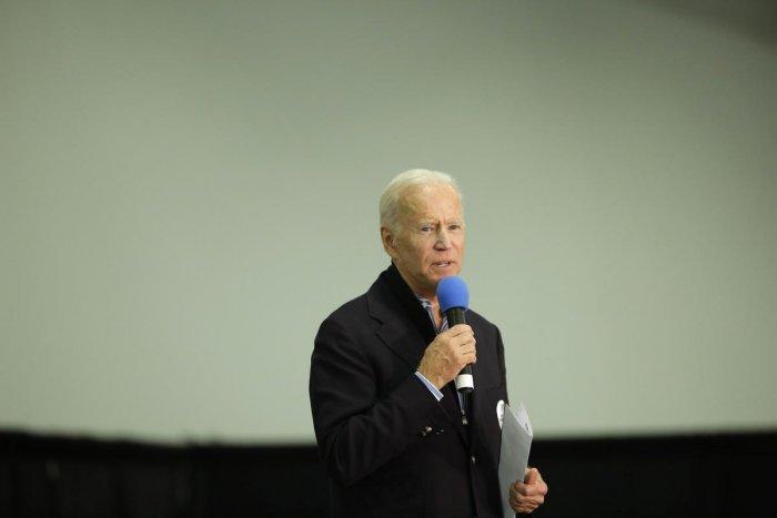 Democratic presidential candidate former Vice President Joe Biden. (AFP image)