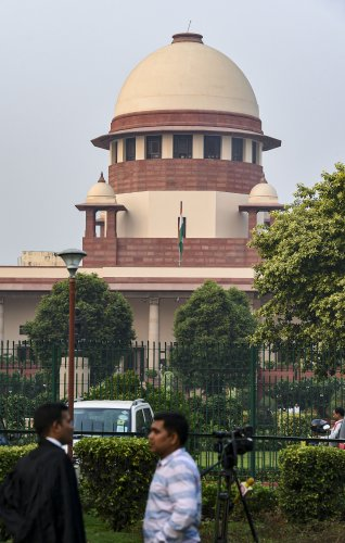 Supreme  Court of India. (Reuters Photo)