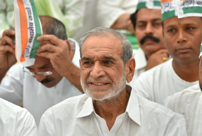 Congress leader Sajjan Kumar. PTI file photo
