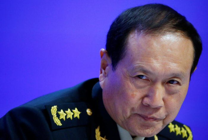Chinese Defense Minister Wei Fenghe. (Reuters photo)