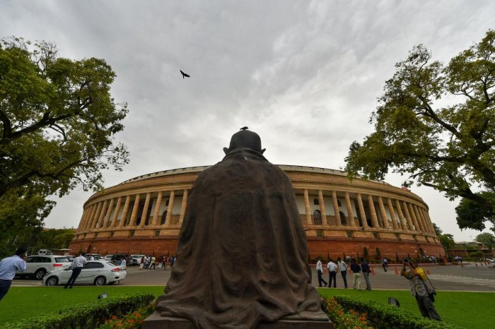 A view of Parliament House. (PTI Photo)