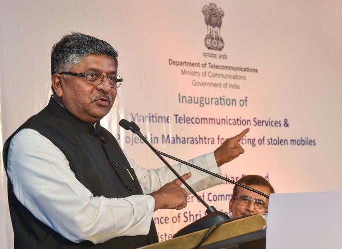 IT Minister Ravi Shankar Prasad (PTI Photo)