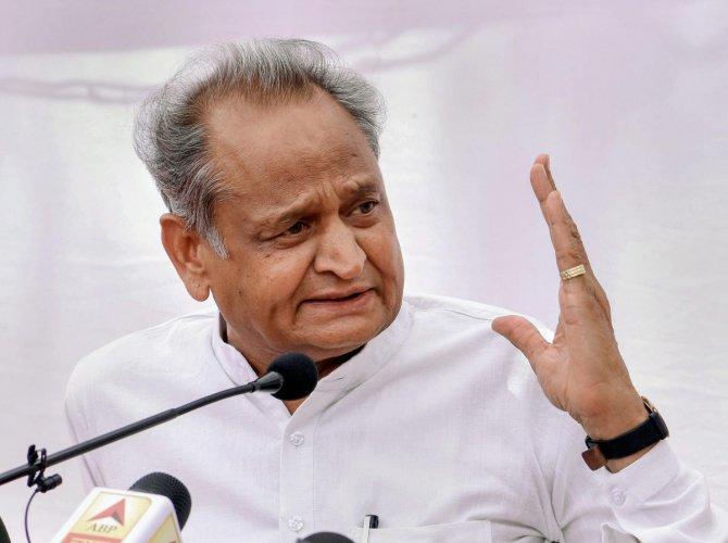 Rajasthan Chief Minister Ashok Gehlot (PTI Photo)