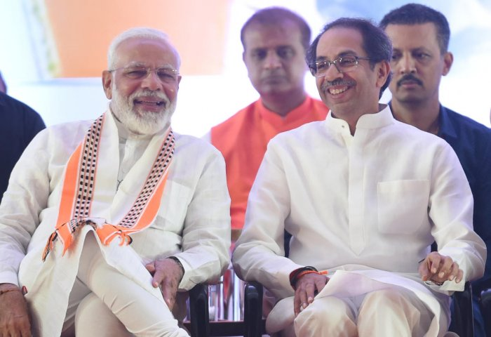 Sources from both parties said back channel talks are on between the two old but often-feuding Hindutva allies and a breakthrough is expected. (PTI File Photo)