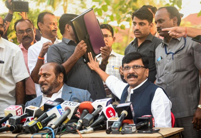 Sanjay Raut. (PTI File Photo)
