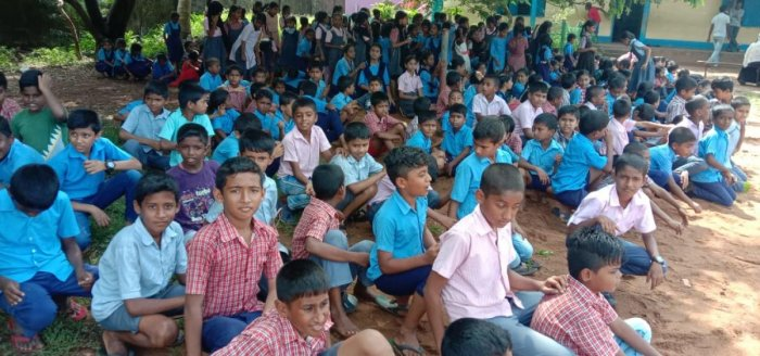 Students of government school