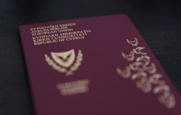 Photo illustration of a Cypriot passport. (Reuters photo)