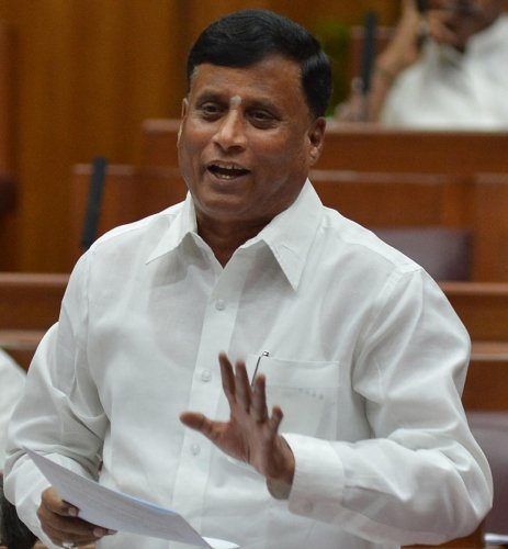 District In-charge Minister V Somanna