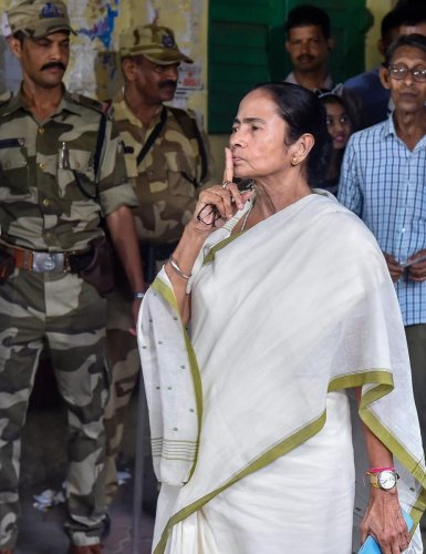 West Bengal Chief Minister Mamata Banerjee (PTI Photo)