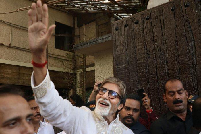 Amitabh Bachchan. (PTI File Photo)